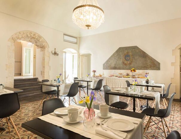 San Carlo Suites Noto - Breakfast Room